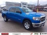 2020 Hydro Blue Pearl Ram 1500 Big Horn Crew Cab 4x4 #137455383