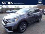 2020 Modern Steel Metallic Honda CR-V EX AWD #137455304