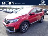 2020 Radiant Red Metallic Honda CR-V Touring AWD #137455303