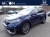 2020 Obsidian Blue Pearl Honda CR-V EX AWD #137455301