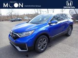 2020 Aegean Blue Metallic Honda CR-V EX AWD #137455299