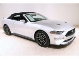 2019 Ford Mustang EcoBoost Premium Convertible Front 3/4 View