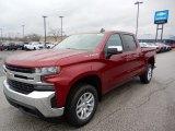 2020 Cajun Red Tintcoat Chevrolet Silverado 1500 LT Crew Cab 4x4 #137489256