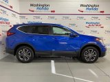 2020 Aegean Blue Metallic Honda CR-V EX AWD #137489049