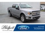 2020 Iconic Silver Ford F150 XLT SuperCrew 4x4 #137509441