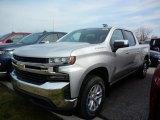 2020 Silver Ice Metallic Chevrolet Silverado 1500 LT Crew Cab 4x4 #137516414