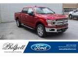 2020 Rapid Red Ford F150 XLT SuperCrew 4x4 #137543671