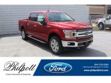 2020 Rapid Red Ford F150 XLT SuperCrew 4x4 #137543670
