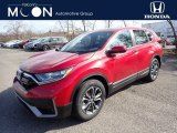 2020 Radiant Red Metallic Honda CR-V EX AWD #137559999