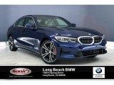 2020 Mediterranean Blue Metallic BMW 3 Series 330i Sedan #137560039