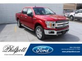 2020 Rapid Red Ford F150 XLT SuperCrew 4x4 #137560024