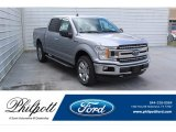 2020 Iconic Silver Ford F150 XLT SuperCrew 4x4 #137560023