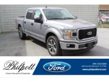 2020 Iconic Silver Ford F150 STX SuperCrew #137580363