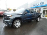 2020 Shadow Gray Metallic Chevrolet Silverado 1500 RST Double Cab 4x4 #137580306