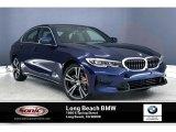 2020 Mediterranean Blue Metallic BMW 3 Series 330i Sedan #137580376