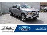2020 Iconic Silver Ford F150 XLT SuperCrew 4x4 #137580368
