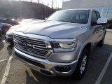 2020 Billet Silver Metallic Ram 1500 Laramie Quad Cab 4x4 #137603697