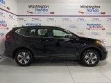 2020 Crystal Black Pearl Honda CR-V LX AWD #137603645