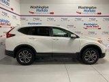 2020 Platinum White Pearl Honda CR-V EX AWD #137603648