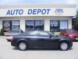 2008 Brilliant Black Crystal Pearl Chrysler 300 LX #13744212