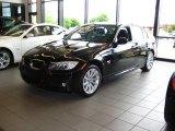 2009 Jet Black BMW 3 Series 328xi Sedan #13748574