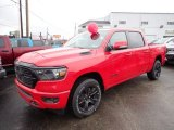 2020 Flame Red Ram 1500 Big Horn Crew Cab 4x4 #137619208