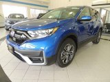 2020 Aegean Blue Metallic Honda CR-V EX-L AWD #137633621