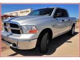 2009 Bright Silver Metallic Dodge Ram 1500 SLT Crew Cab 4x4 #13750527