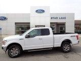 2020 Oxford White Ford F150 XLT SuperCab 4x4 #137633671