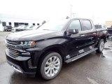 2020 Black Chevrolet Silverado 1500 High Country Crew Cab 4x4 #137648842