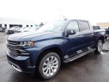 2020 Northsky Blue Metallic Chevrolet Silverado 1500 High Country Crew Cab 4x4 #137648840