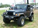 2006 Midnight Blue Pearl Jeep Wrangler X 4x4 #13745561