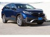 2020 Obsidian Blue Pearl Honda CR-V Touring #137648814