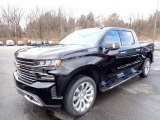 2020 Black Chevrolet Silverado 1500 High Country Crew Cab 4x4 #137670698