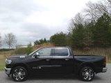 2020 Diamond Black Crystal Pearl Ram 1500 Longhorn Crew Cab 4x4 #137723744
