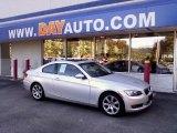 2007 Titanium Silver Metallic BMW 3 Series 328xi Coupe #13742929