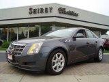 2009 Thunder Gray ChromaFlair Cadillac CTS 4 AWD Sedan #13743273