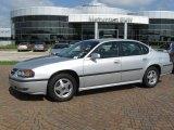 2001 Galaxy Silver Metallic Chevrolet Impala LS #13754994