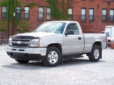 2006 Silver Birch Metallic Chevrolet Silverado 1500 LT Regular Cab 4x4 #13748194