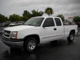 2005 Summit White Chevrolet Silverado 1500 LS Extended Cab #13749229