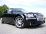2008 Brilliant Black Crystal Pearl Chrysler 300 C HEMI Walter P. Chrysler Executive Series #13738265