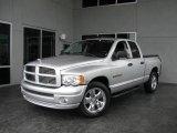 2005 Bright Silver Metallic Dodge Ram 1500 SLT Road Runner Quad Cab #13738659