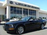 2005 Black Ford Mustang V6 Premium Convertible #13746783