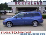 2004 French Blue Metallic Ford Focus ZTW Wagon #13747252