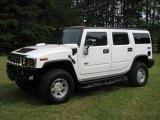 2003 White Hummer H2 SUV #13750318
