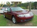 2007 Vivid Red Metallic Lincoln MKZ Sedan #13752272