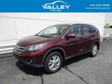 2012 Basque Red Pearl II Honda CR-V EX-L 4WD #138190571