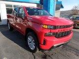 2020 Red Hot Chevrolet Silverado 1500 Custom Crew Cab 4x4 #138217095
