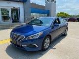 2017 Lakeside Blue Hyundai Sonata SE #138232596