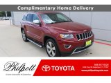 2014 Deep Cherry Red Crystal Pearl Jeep Grand Cherokee Limited #138232540